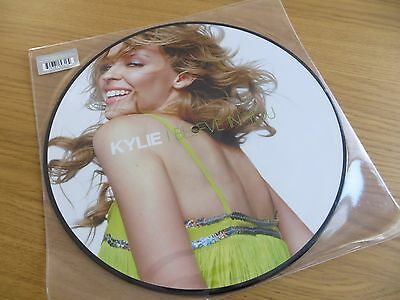 """Kylie Minogue 12"""" Vinyl Picture Disc - I Believe In You, New."""