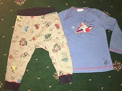 Christmas Pyjamas By Next Age 9-12 Months