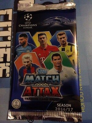 Topps Match Attax 2016-17 Champions League Packet Sealed