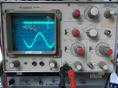 Vintage Gould Advance Oscilloscope Gwo