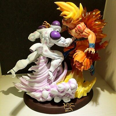 Dragon Ball Figure Resine Resin Statue Son Goku Vs Freezer Battle