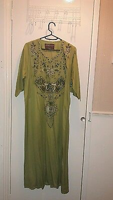 ladies size 12-14 kaftan dress
