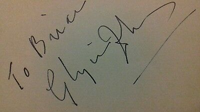 Glynis Johns Autograph Mary Poppins