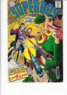 Superboy #149 Bonnie And Clyde Dc Sf
