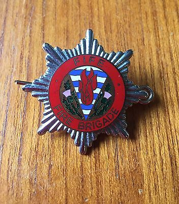 Fife Fire Brigade Cap Badge
