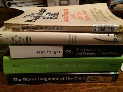 Jean Piaget 4 Book Collection (English)
