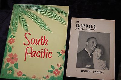 playbill south pacific majestic theater