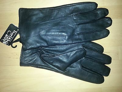 Gents, Leather Gloves, size M. No reserve.