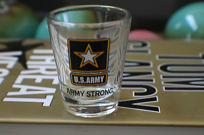 Us Army Army Strong Shot Glass