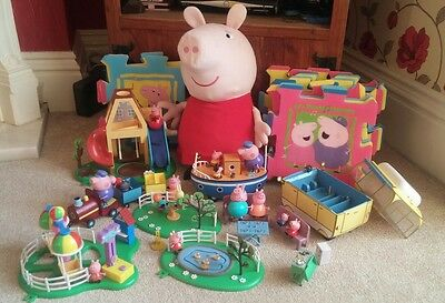 peppa pig toys bundle