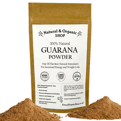 Natural & Organic - GUARANA Powder >> 100g-1kg >> (SPECIAL OFFER up to 40% OFF)