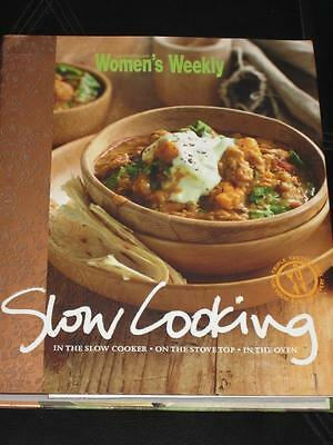 Womens' Weekly Cookbook Cooking Recipes Slow Cooker Cooking Hard Back Dust Cover