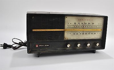 Panasonic Model 740 Vintage AM FM Tube Radio Receiver Made in Japan