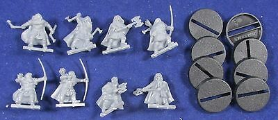Lord of the Rings: 8 Dwarf Rangers (Plastic) MM30