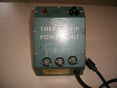 IDEAL Thermo-Tip 500 Watt Power Unit 12163 for Resistance Soldering