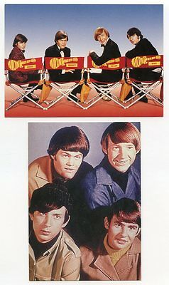 The Monkees postcards x2