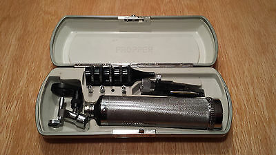 Propper Otoscope & Welch allyn ophalmoscope head