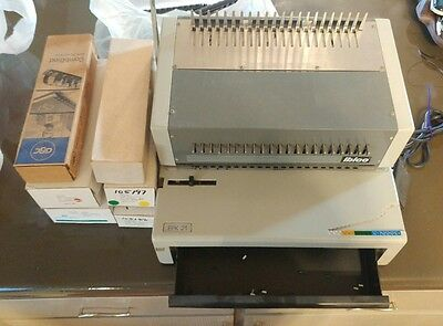 ibico epk21 electric binding machine