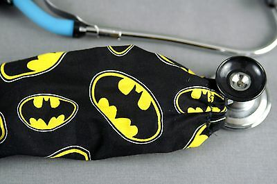 New Handmade Stethoscope Cover Sock Batman Scrub Accessories Gift Free Ship