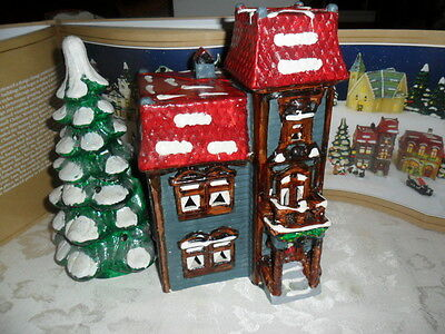 "Dept.56 Snow Village Collection ""CENTENNIAL HOUSE"" #5020-2  RARE And RETIRED !!!"