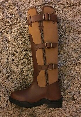 Kinpurnie Long Newtyle Boots Size 3 Brand New