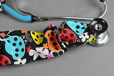 New Handmade Stethoscope Cover Sock Summer Ladybug Accessories Free Ship