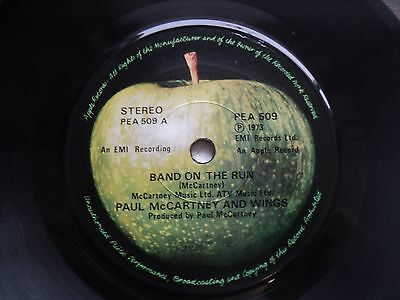 Paul McCartney and Wings - Band on the Run- Rare & Unknown MALAYSIA release 45