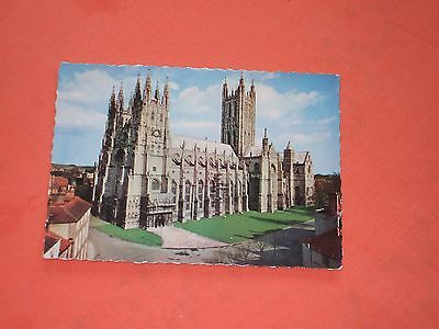 postcard caterbury cathedral