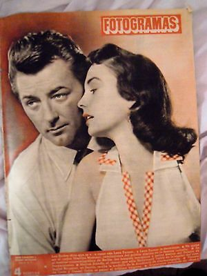 Marilyn Monroe:inside Pages Spanish Magazine-1953-R. Mitchum-Jean Simmons-Rare!!