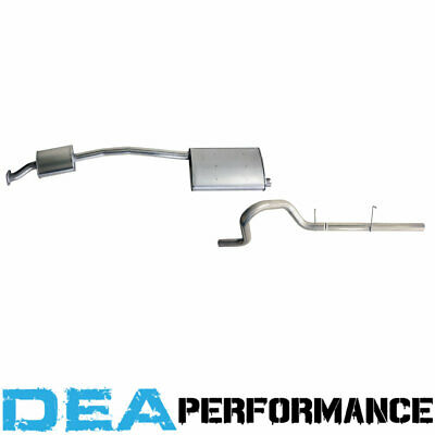 Standard Cat Back Exhaust System Muffler Au Ford Falcon 6 Ute Utility Catback 4L
