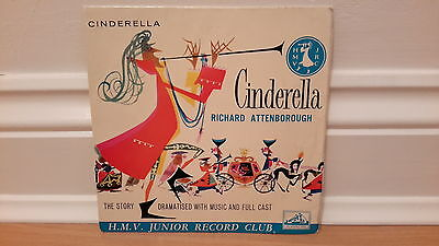 Cinderella EP record narated by Richard Attenborough