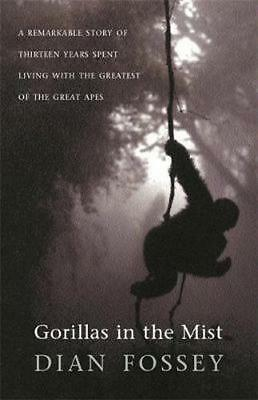 NEW Gorillas in the Mist By Dian Fossey Paperback Free Shipping