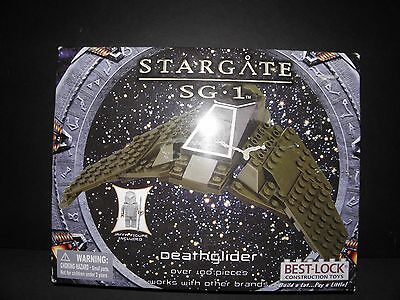 STARGATE SG1 Deathglider with Death Rider- Best Lock Toys