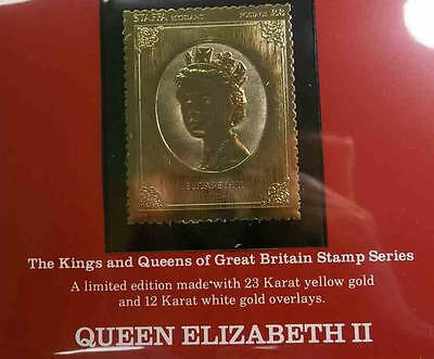 The Kings and Queens of Great Britain Stamp Series