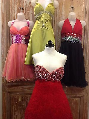 Jovani Size 14 Prom Party Cruise Cocktail Wholesale Lot Short Formal Dresses