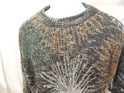 Vtg Cambio Mens Sweater Made in Italy sz M 1990's