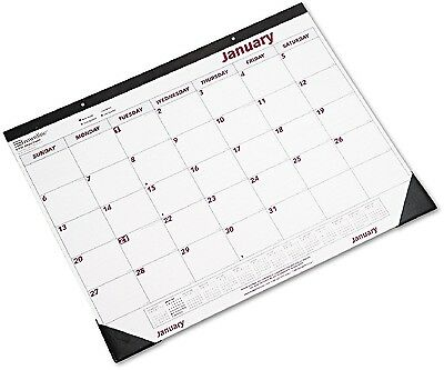 Year 2017 Desk Pad Wall Calendar Chipboard Large Monthly Office Daily Yearly NEW