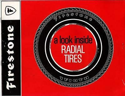 "1970's Vintage Firestone ""A Look inside Radial Tires"" Publication"