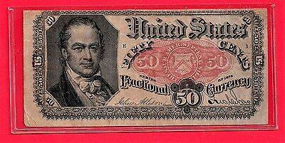 **  1875  50 Cents Fractional Currency   ****