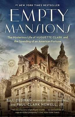 NEW Empty Mansions By Bill Dedman Paperback Free Shipping