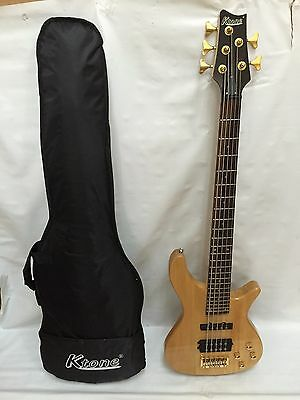 5 NA 5 String Bass Guitar, Free Gig Bag, Brand New