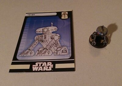 Star Wars Miniatures 2008 Knights of the Old Republic T3-M4 51/60 with Card Rare