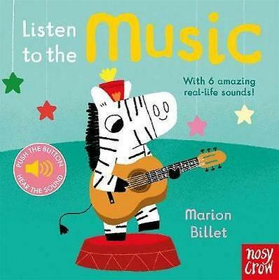 NEW Listen to the Music By Marion Billet Board Book Free Shipping
