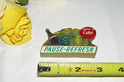 Vintage Coca-Cola Coke Refrigerator Magnet 9 Have a Coke PAUSE REFRESH