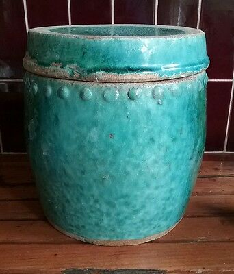Large handmade Chinese container