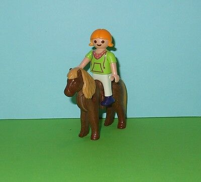 Playmobil City Life Child with Pony / Country /Farm/ Horse Ranch