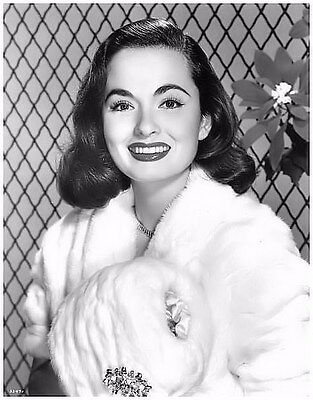 Ann Blyth In White Fur Beautiful
