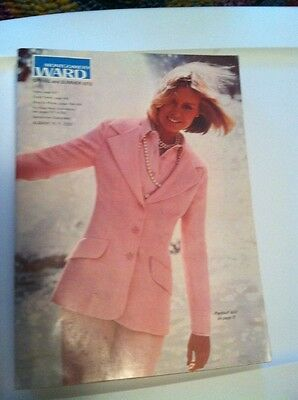 Montgomery Ward Spring and Summer 1973 Catalog.  Euc
