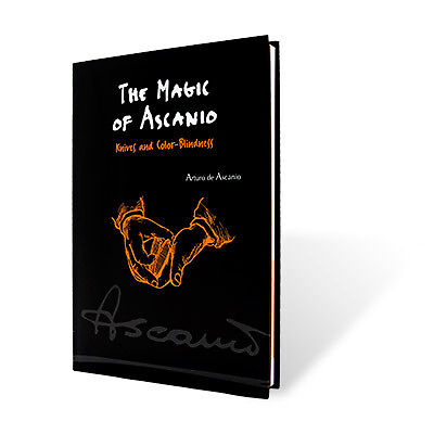 The Magic of Ascanio Book Vol. 4 Knives - Book    BRAND NEW