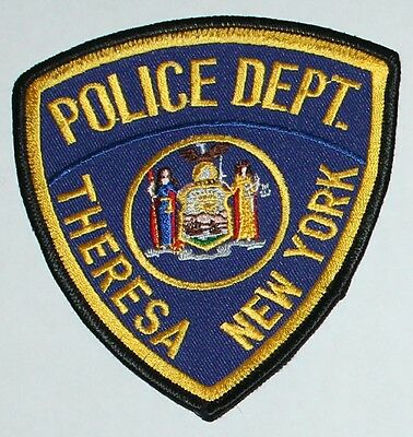 THERESA POLICE DEPT New York NY PD patch